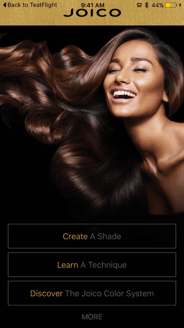 Joico System Color App