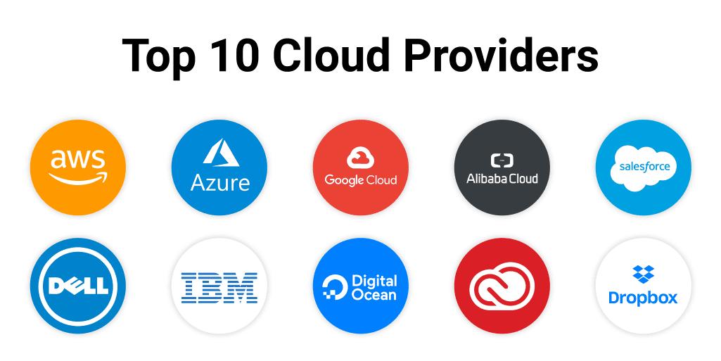 Top 10 Cloud Providers